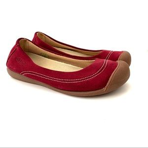 Keen Suede Leather Flats